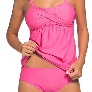 Other - 💖Hot color Tankini two pieces set 💖